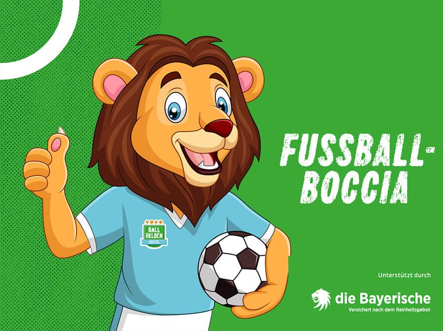 BLLV BallHelden Training Level 1 - Fussball Boccia